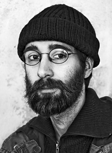 Cristian Forte, Argentinischer Künstler, Poet, Aktivist und Musiker. Foto Thomas Klingberg