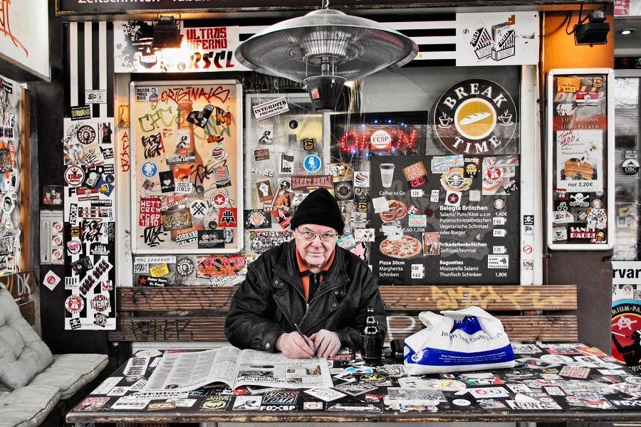 Alltagsportrait in St.-Pauli, Budapester-Straße