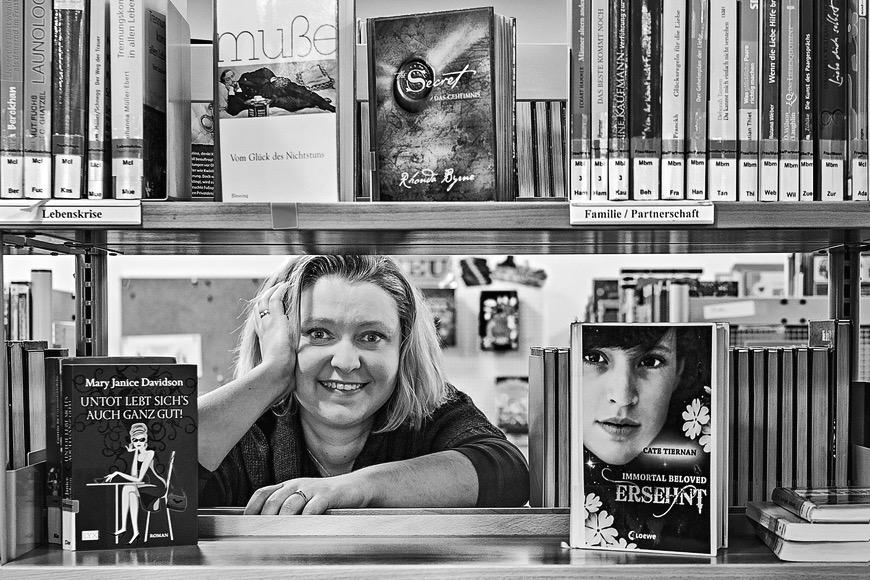Caroline Rullmann von der Stadtteilbibliothek in Gelsenkirchen Horst