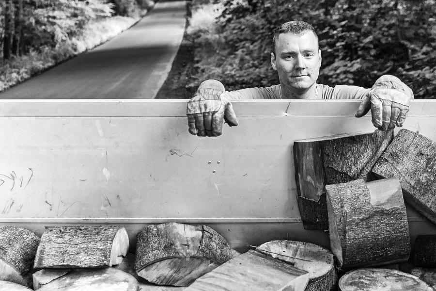 Dokumentarfotografie - Forstarbeiter Benni aus Düsseldorf