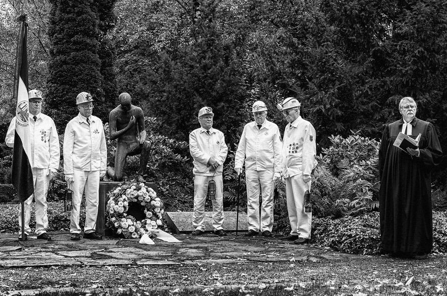 Gedenken an verunglückte Bergarbeiter in Gelsenkirchen