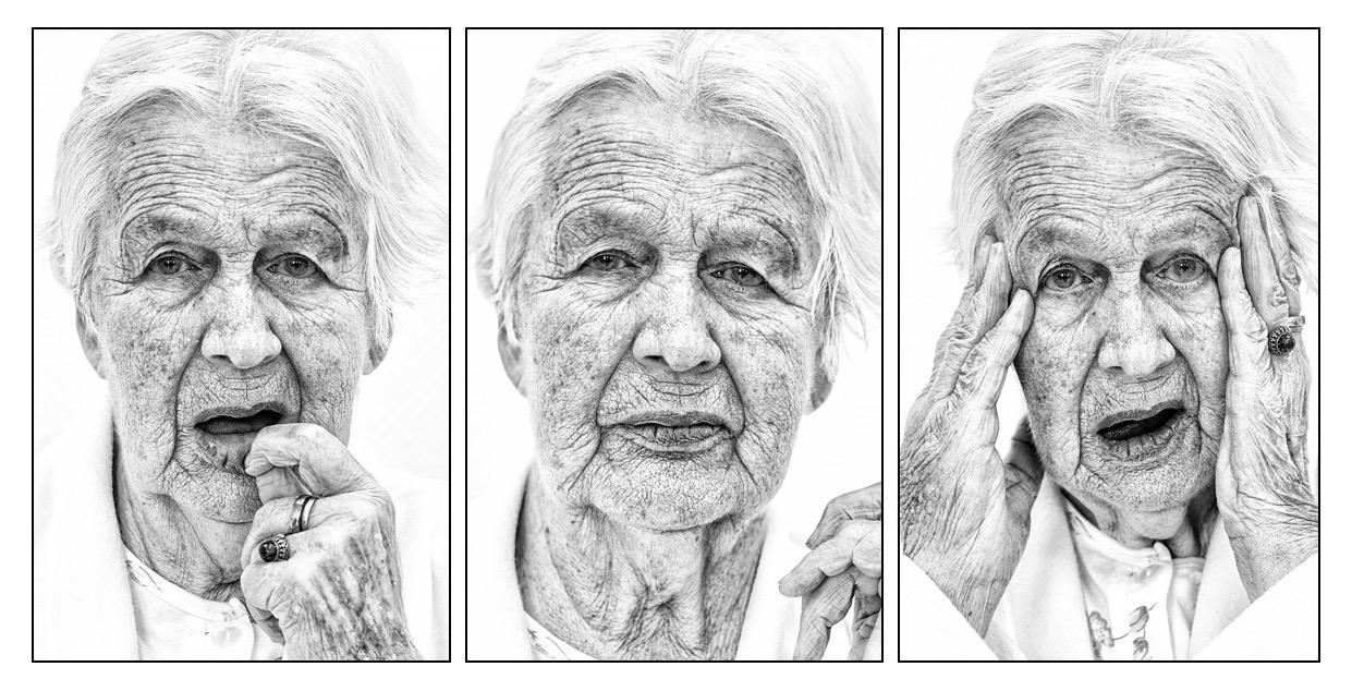 Gesichter der Demenz - Portraitserie