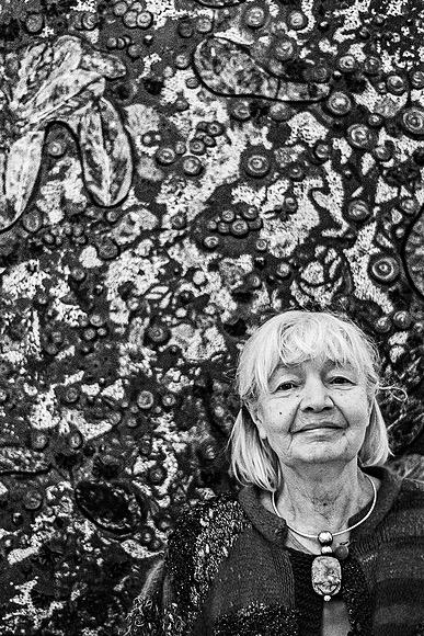 Künstlerin Rita Theiss in Gelsenkirchen