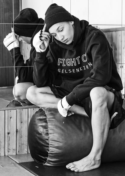 Mandy Böhm im Fight Club in Gelsenkirchen Erle