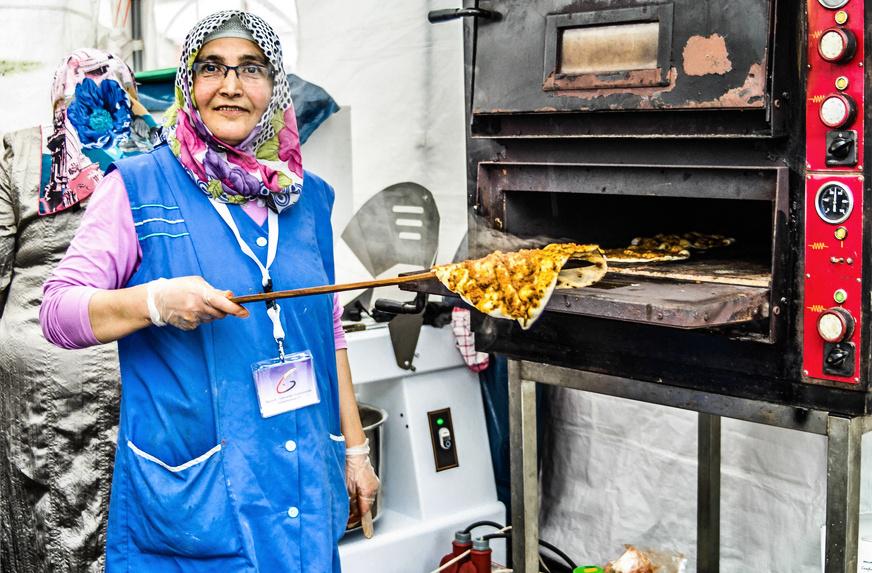 Muslimische Frau in Gelsenkirchen