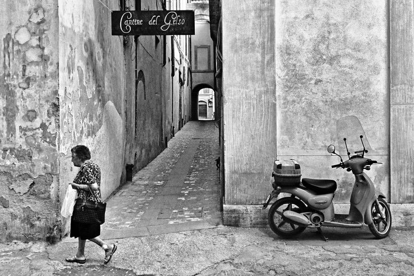 Bildband Italien monochrom