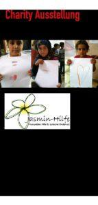 40 Künstler stellen für syrische Kinder aus. Charity Veranstaltung