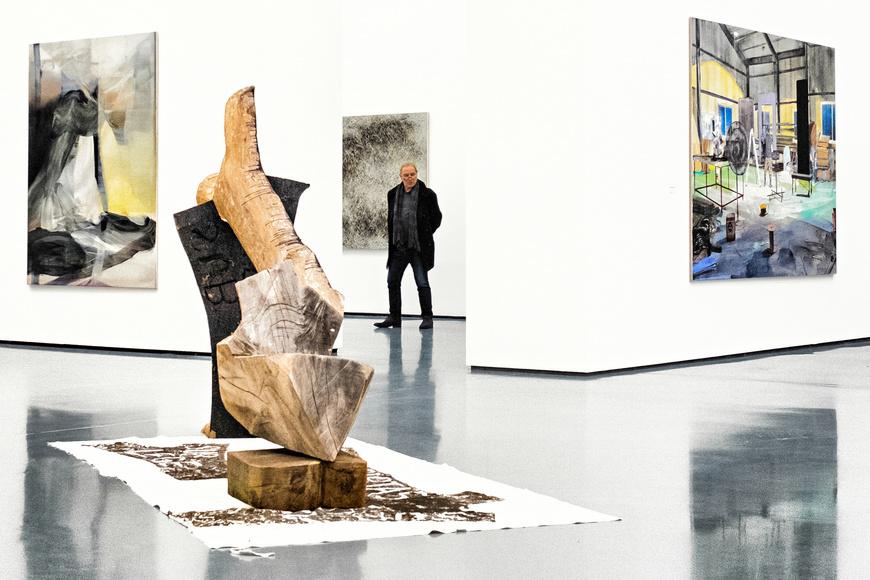 Im Kunstpalast in Düsseldorf läuft momentan die DIE GROSSE 2016, eine sehenswerte Ausstellung.