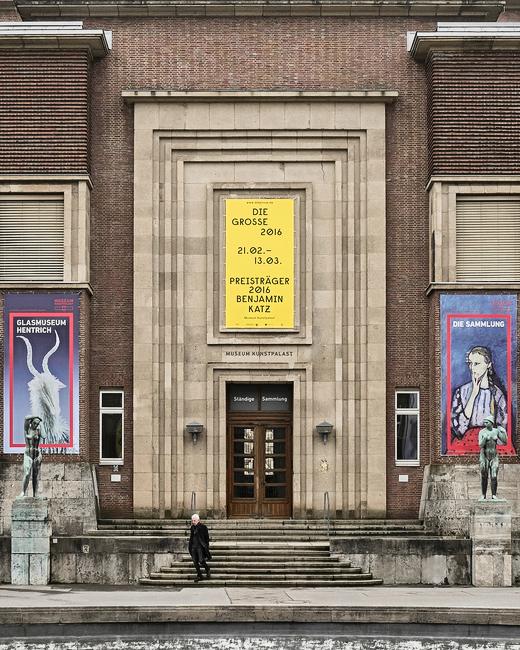The exhibition DIE GROSSE in Düsseldorf, Museum Kunstpalast, opens its doors on 21 February 2016.