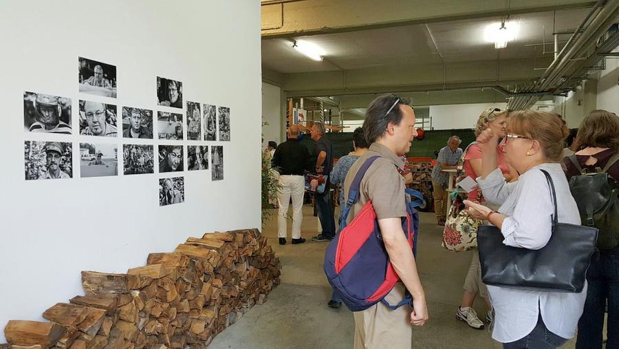 Karin Rauer (rechts) von Kulturamt Düsseldorf