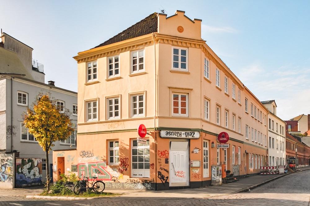 Zeißklause auf der Zeißstraße in Hamburg Altona