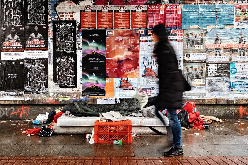 Hamburg Schanzenviertel - Akzeptierte Armut