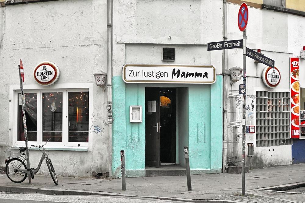 Zur lustigen Mamma Hamburg Kiez Paul Roosen-Strasse Grosse Freiheit