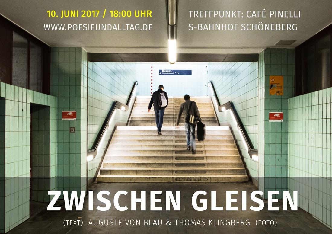 Kunst-Ausstellung Berlin Schöneberg Thomas Klingberg Auguste von Blau