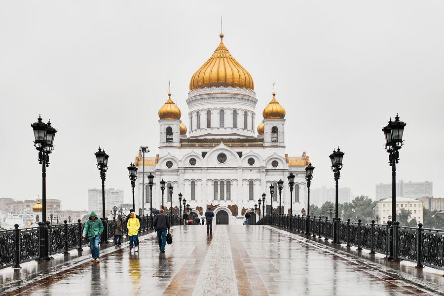 Christ Erloeser Kirche Moskau