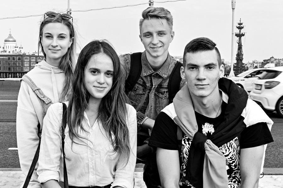 Studenten in Moskau - Thomas Klingberg
