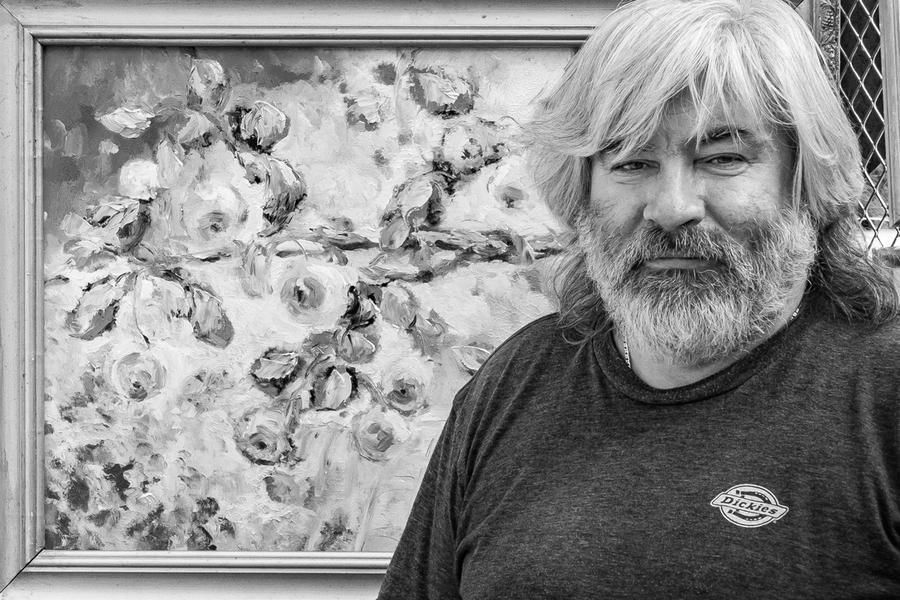 Künstler Георгий Плотников in Moskau - Thomas Klingberg