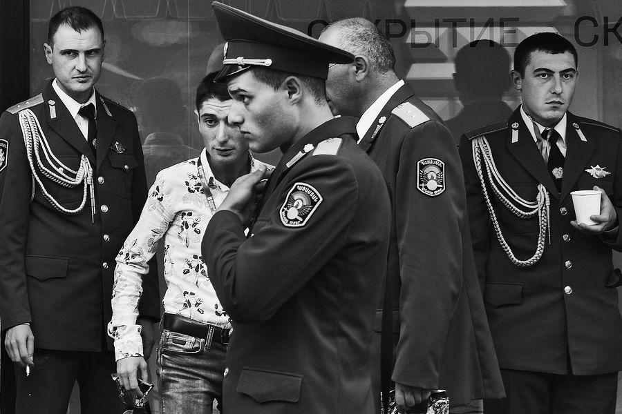 Alltagsfotografie: Militär in Moskau - Thomas Klingberg