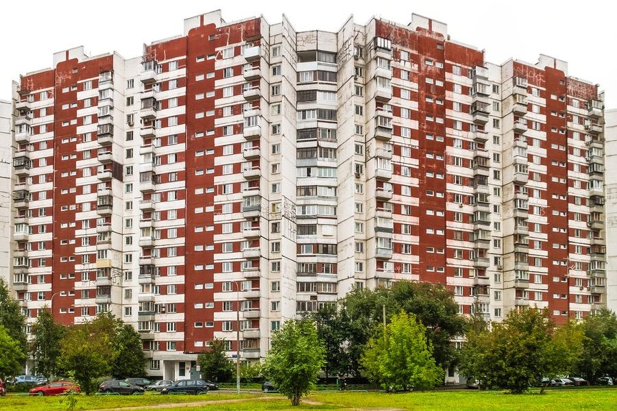 Wohnhaus in Novokosino, Moskau