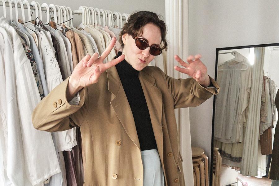 Ksenia aus Moskau, Inhaberin einer Mode-Boutique