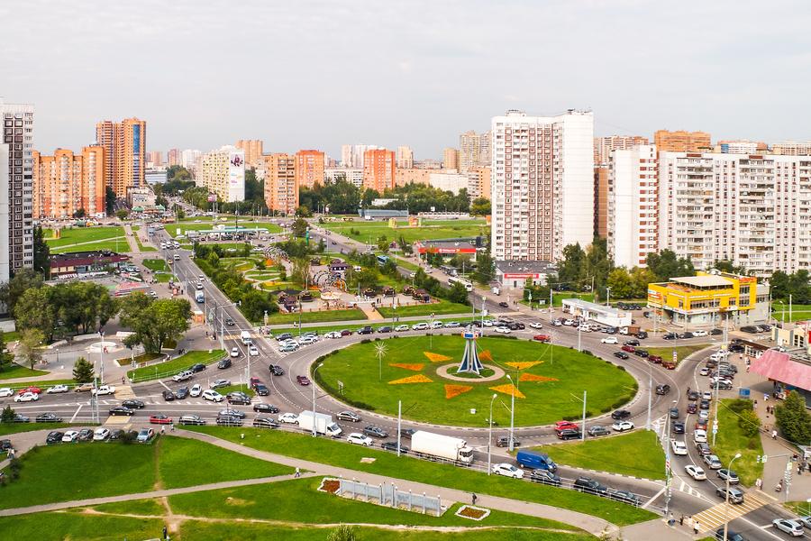 Novokosino, Moskau, Russland