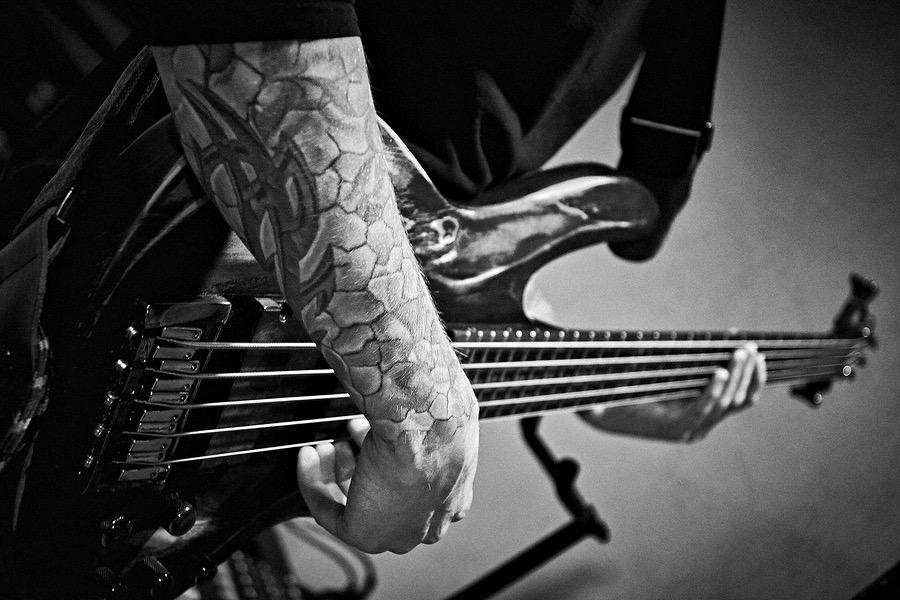 E-Gitarrist in Moskau