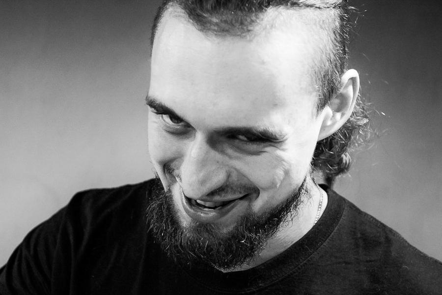 Pascha, Mitglied der Metallband SPAINT in Moskau