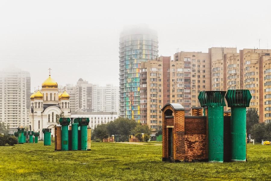 Moskau - Architektur-Studie