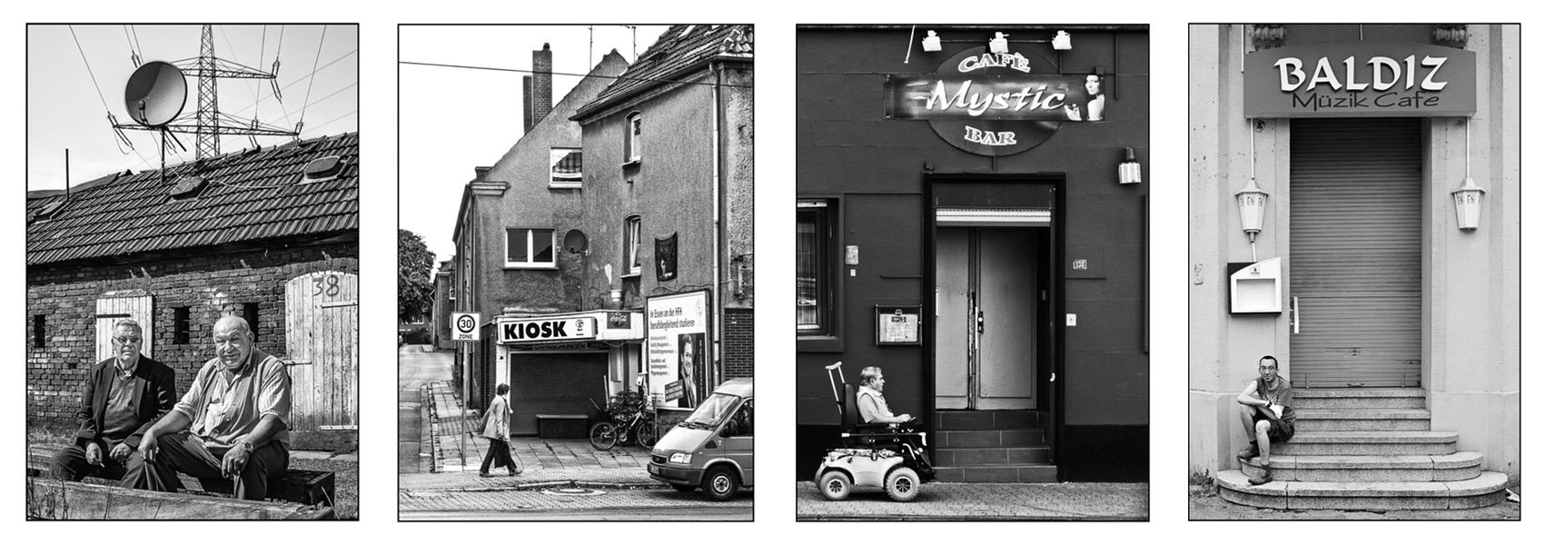 Auswahl von Fotografien aus dem Bildband Gelsenkirchen abseits des Fussballs