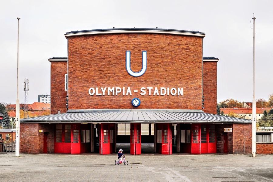 Underground Station Olympia Stadium Berlin
